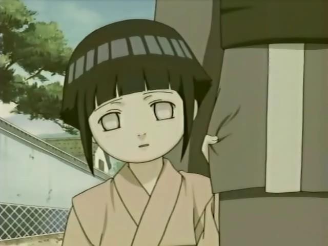 Hinata als kleines Kind