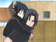Sasuke und Itachi früher
